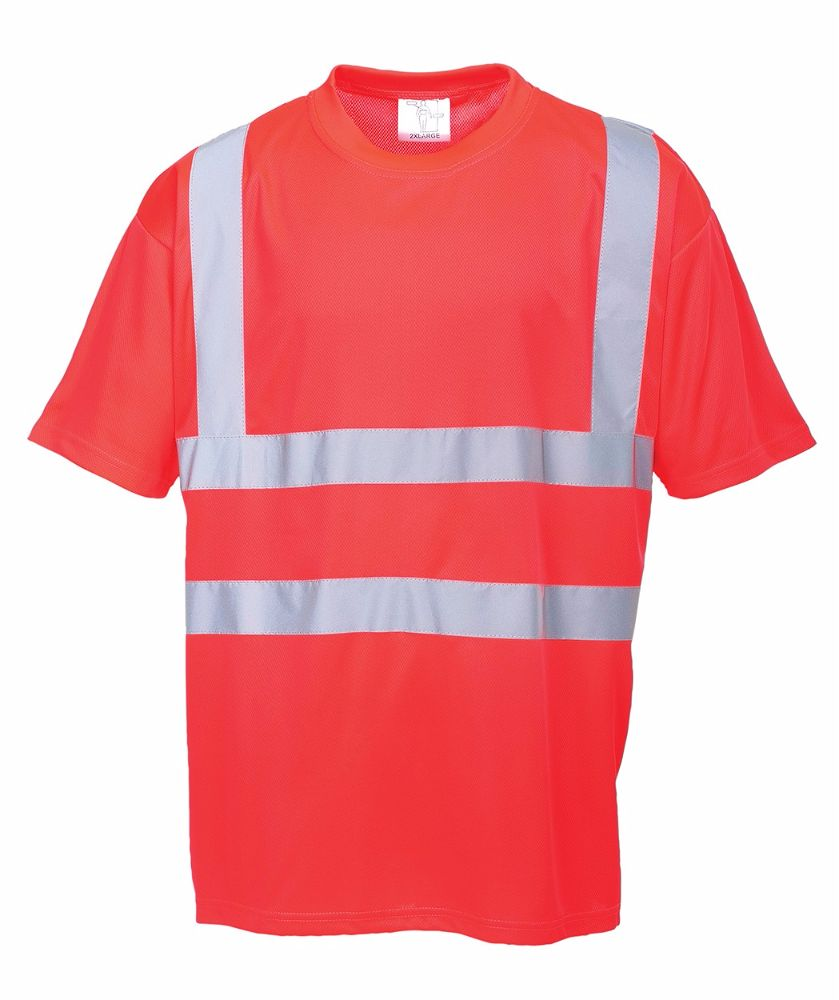 S478 Hi-Viz T-Shirt Red 2X-Large