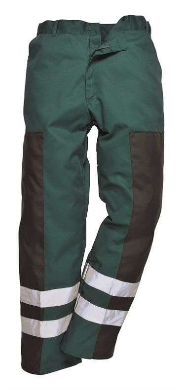 S918 Ballistic Trouser Bottle Green Large
