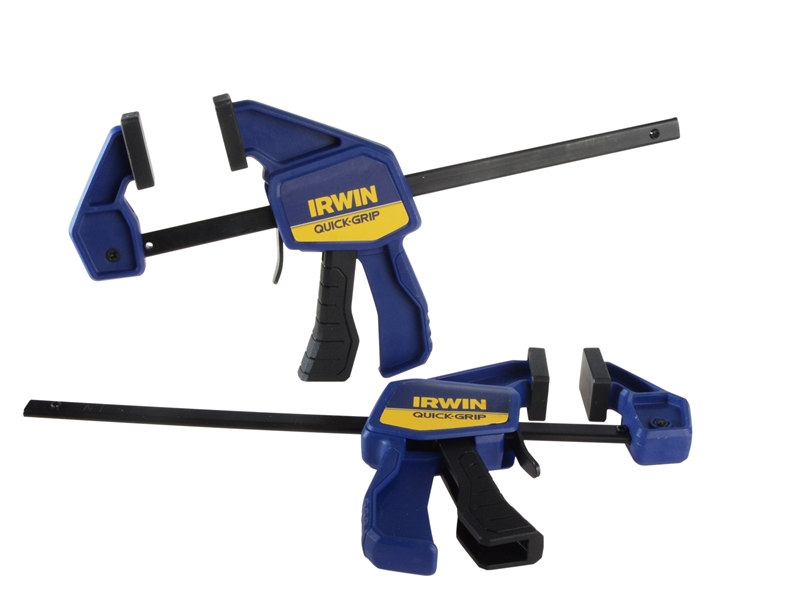 Irwin 150mm Mini One Handed Clamp Twin Pack