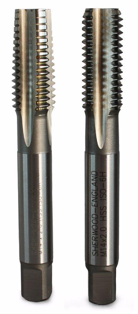 Ruko M8x0.50 Metric Fine HSS Hand Tap Set