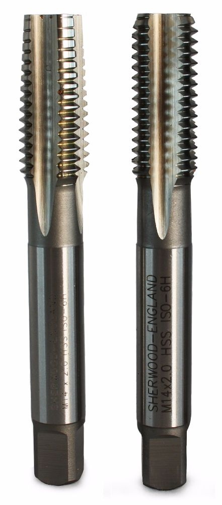 Ruko M12x1.0 Metric Fine HSS Hand Tap Set