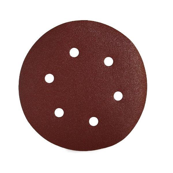Sait P40 150mm Velcro Disc - 6 Holes