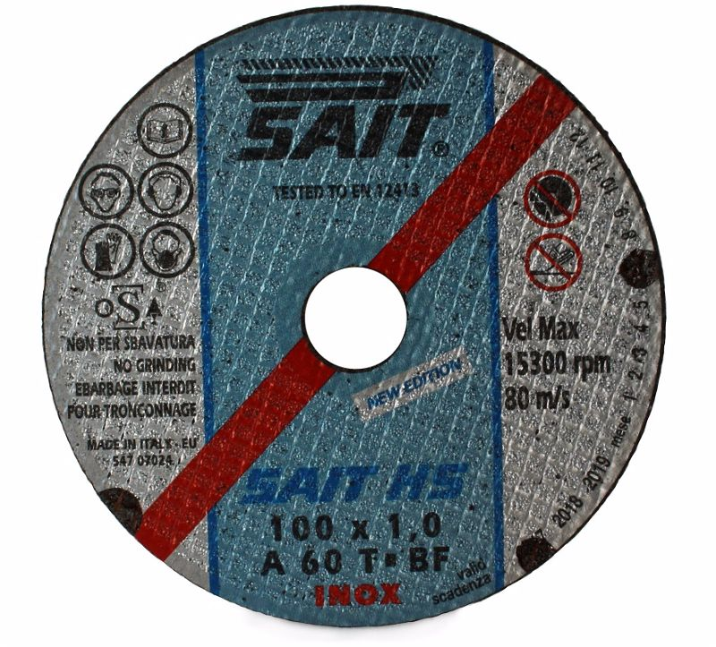 100 x 1 x 16 Sait Metal Cutting Disc