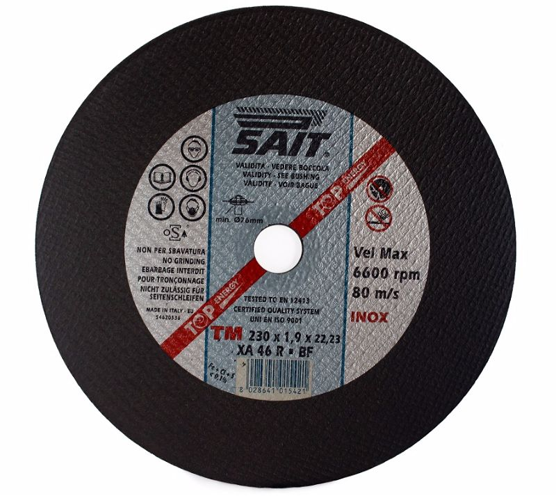 350 x 2.8 x 25.4 Sait Metal Cutting Disc