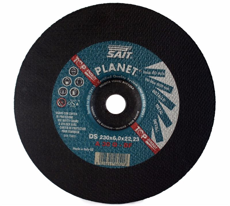 230 x 6 x 22.23 Sait Metal Grinding Disc