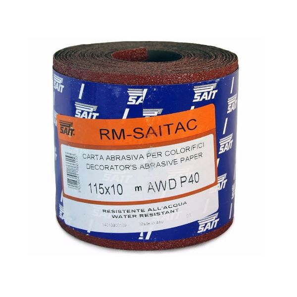 Sait P40 115mm x 10M Paper Roll