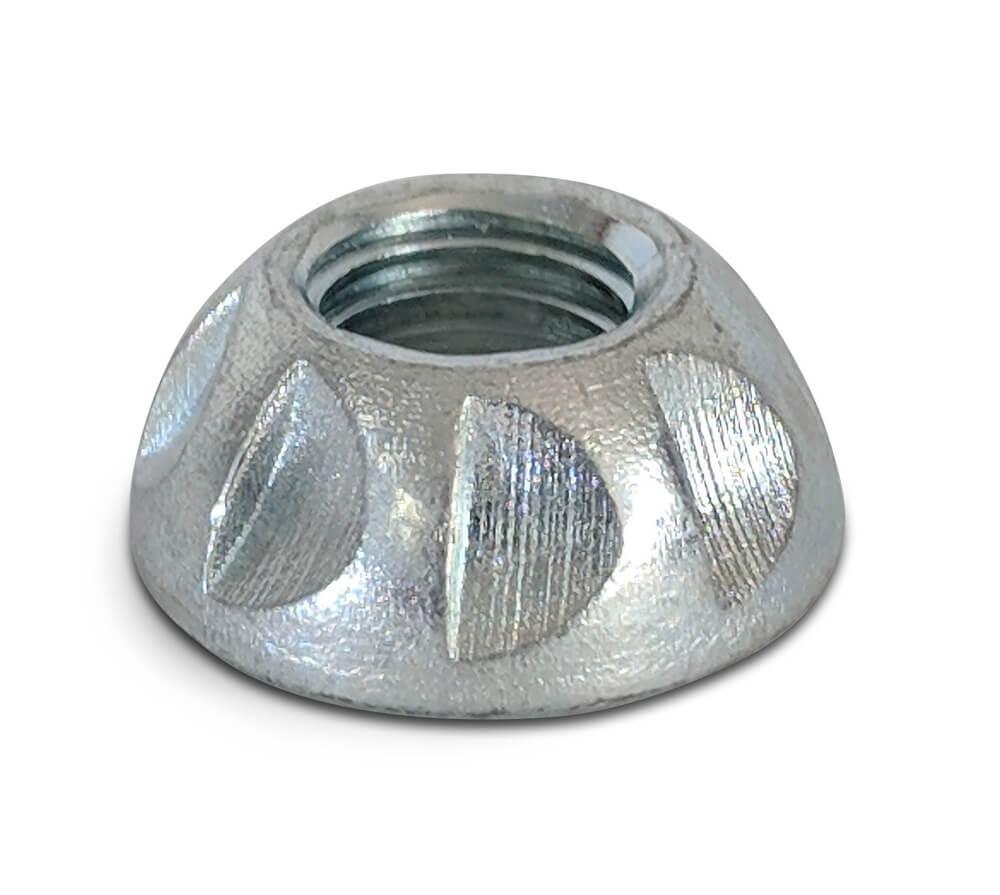 M10 Kinmar Permanent Nut Zinc