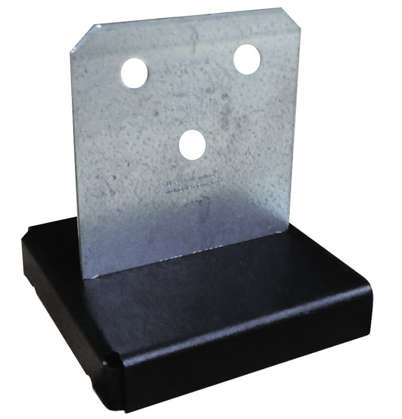Simpson CPT44Z Concealed Post Base 89 x 89mm