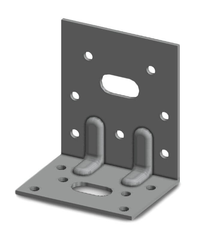 Simpson E5/2 65x75x48mm Angle Bracket