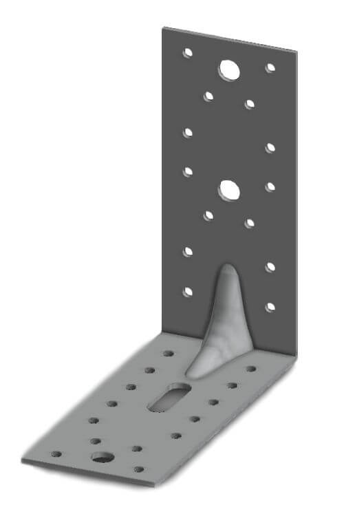 Simpson E9/2,5 65x150x150mm Angle Bracket
