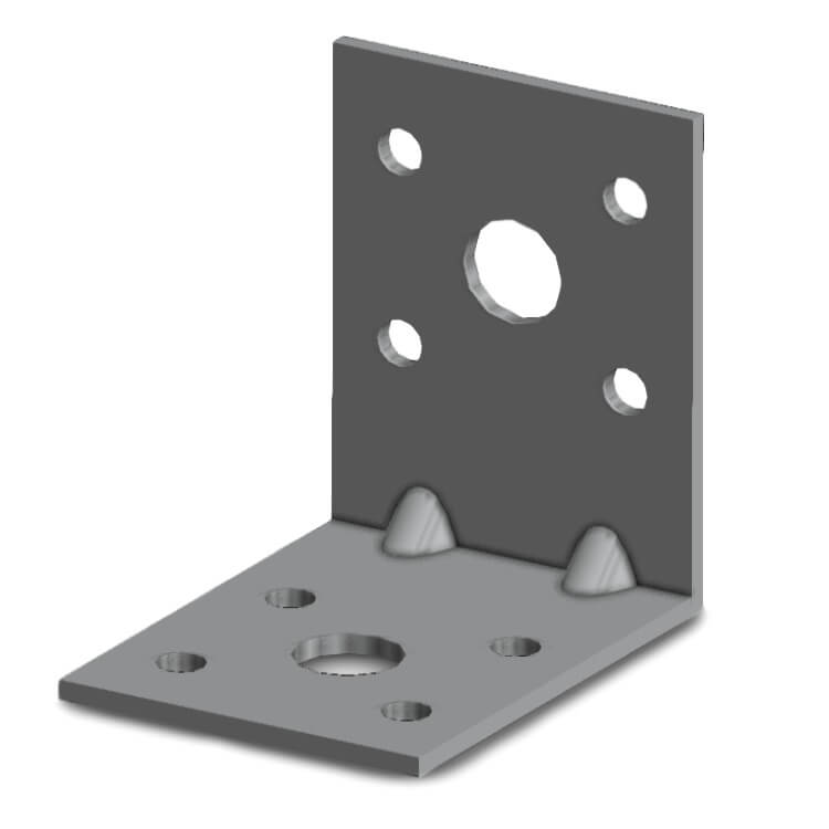 Simpson EA554/2 50x50x40mm Angle Bracket