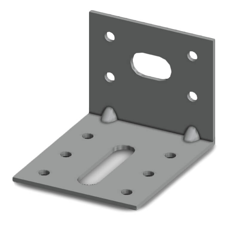 Simpson EA756/2 50x70x60mm Angle Bracket