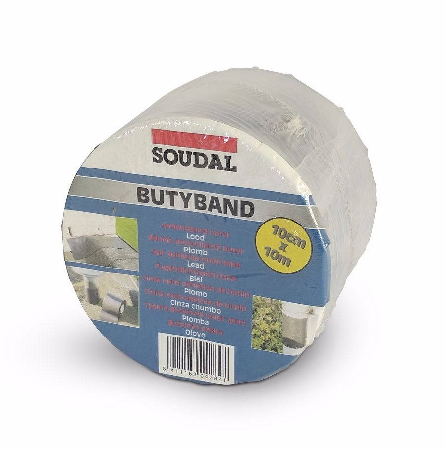 Soudal Butyband Lead Flashing Tape 100mmx10m