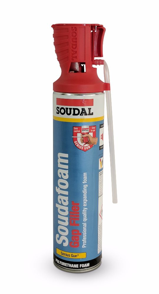 SOUDAFOAM® Gap Filler Foam Genius Gun 600ml
