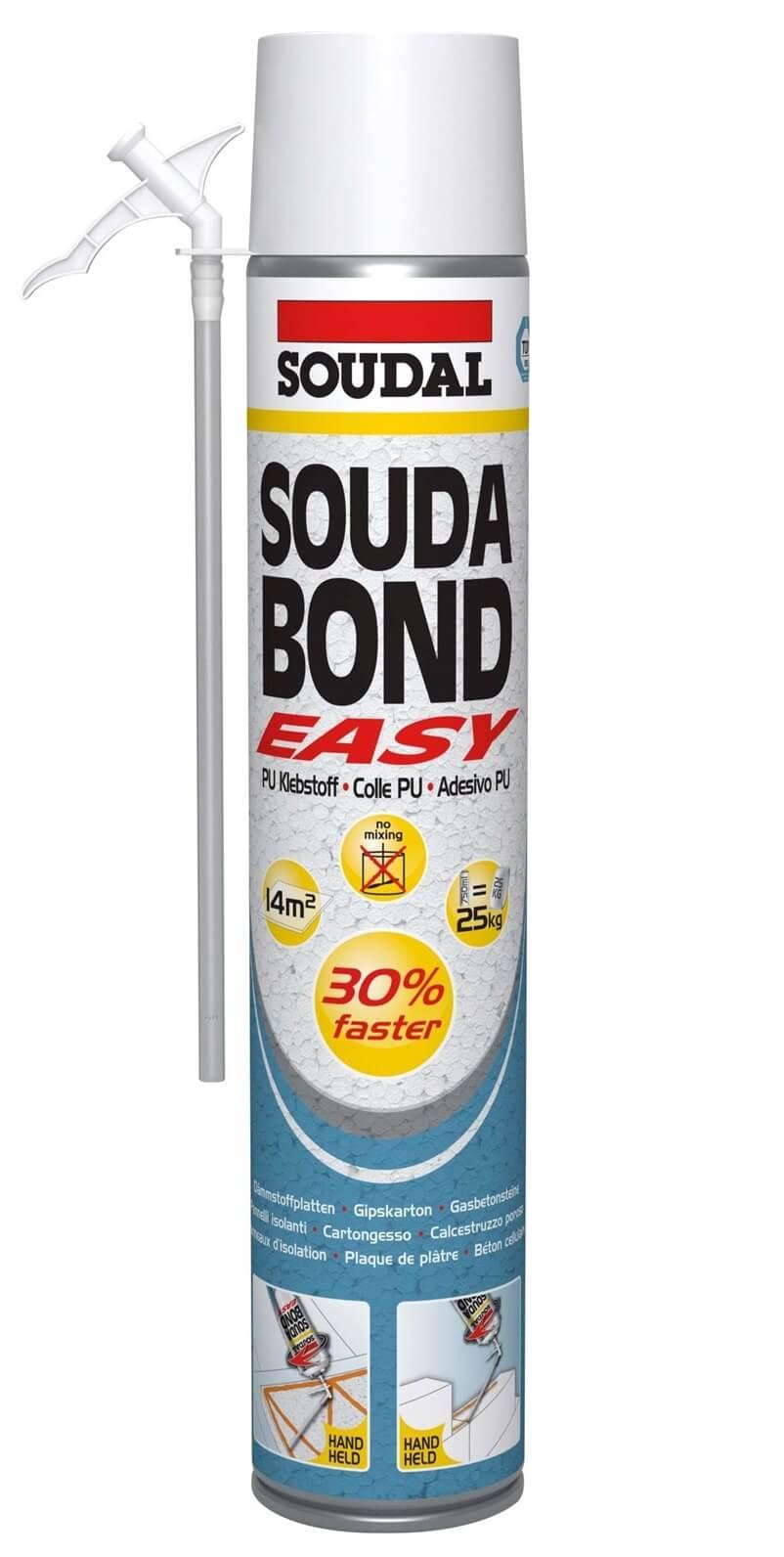 Soudabond Easy Hand Held PU Adhesive 750ml