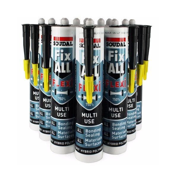 Fix All® Flexi Black 290ml (Box of 12)