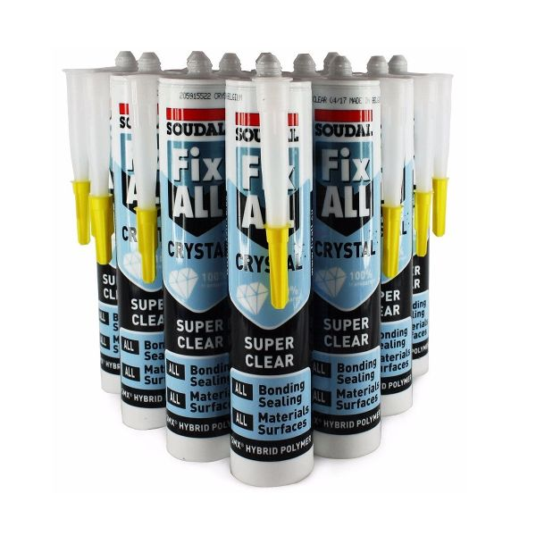 Fix All® Crystal Clear 290ml (Box of 12)
