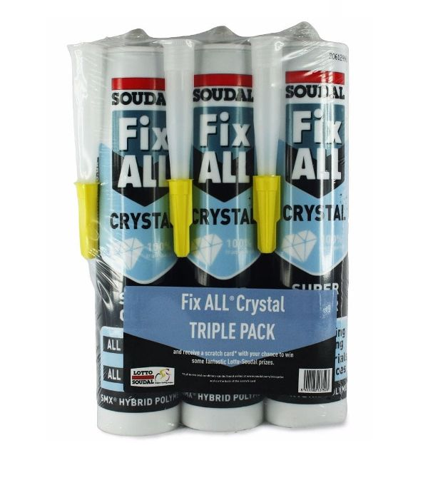 Fix All® Crystal Clear Triple Pack