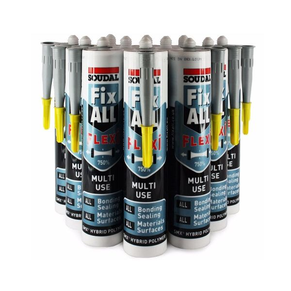 Fix All® Flexi Grey 290ml (Box of 12)