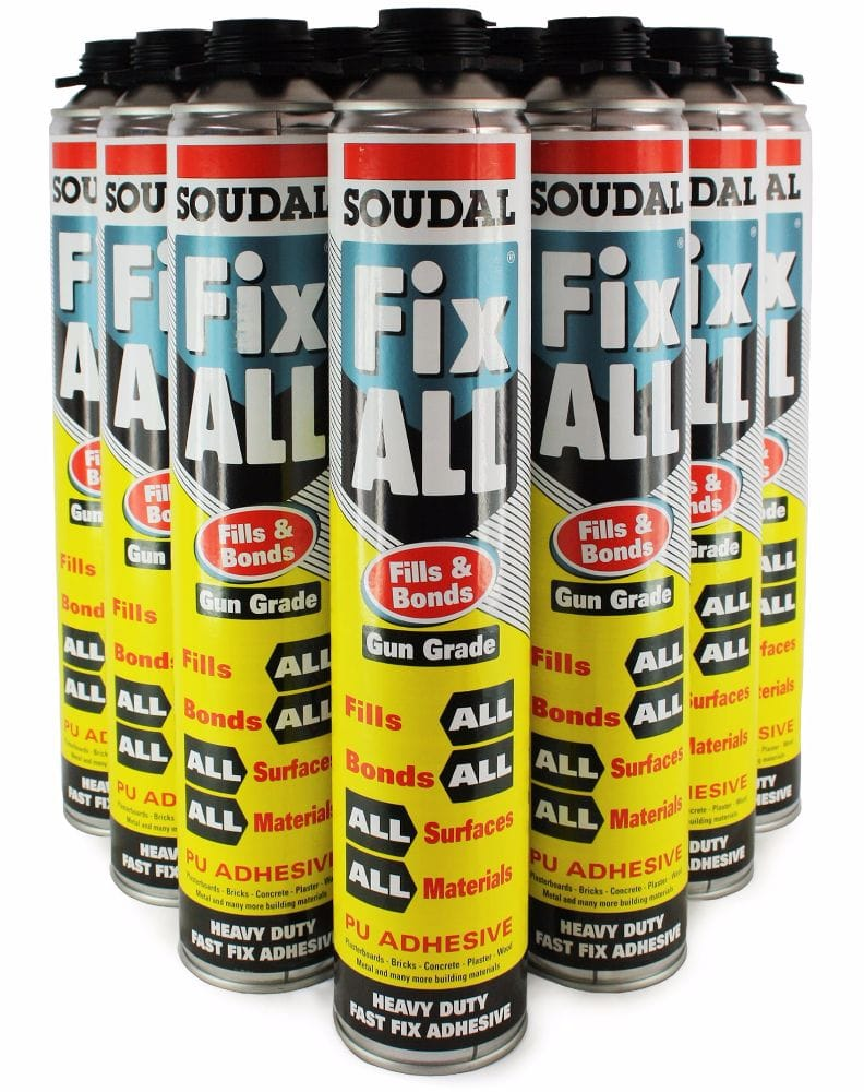 Fix All® 750ml Gun Grade Foam (Box of 12)