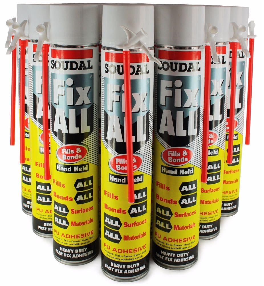 Fix All® 750ml Hand Held Foam (Box of 12)