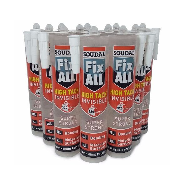Fix All® High Tack Invisible 290ml (Box 12)