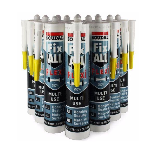 Fix All® Flexi White 290ml (Box of 12)