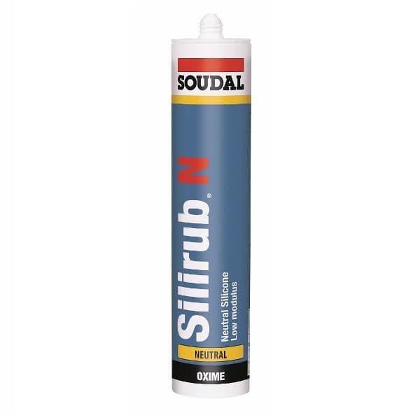 Silirub® N Low Mod Neutral Silicone Black