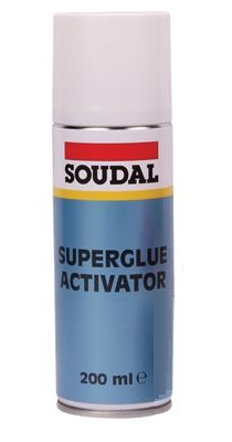 Soudal Superglue Activator Spray 200ml 114746