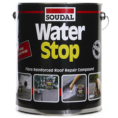 Soudal Waterstop Roof Repair 4kg Grey