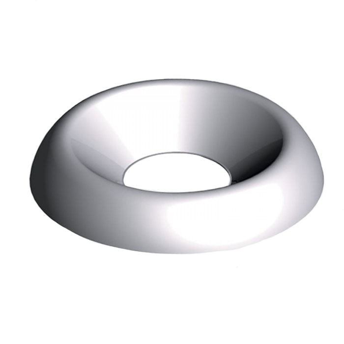 10G Surface Screw Cups Nickel