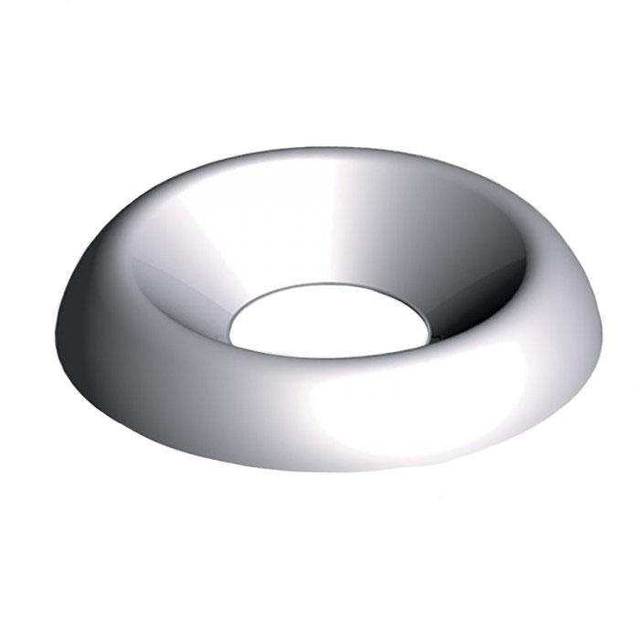 12G Surface Screw Cups Nickel