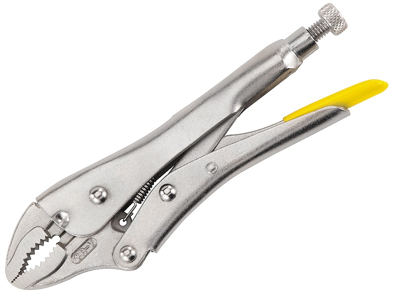STANLEY Locking Pliers 185mm Curved Jaw