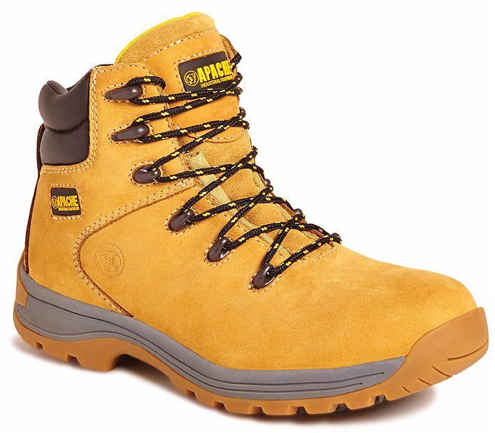 Apache AP314CM Wheat Nubuck Boot SZ 10