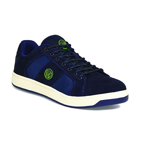 Apache Grabs navy suede size 10