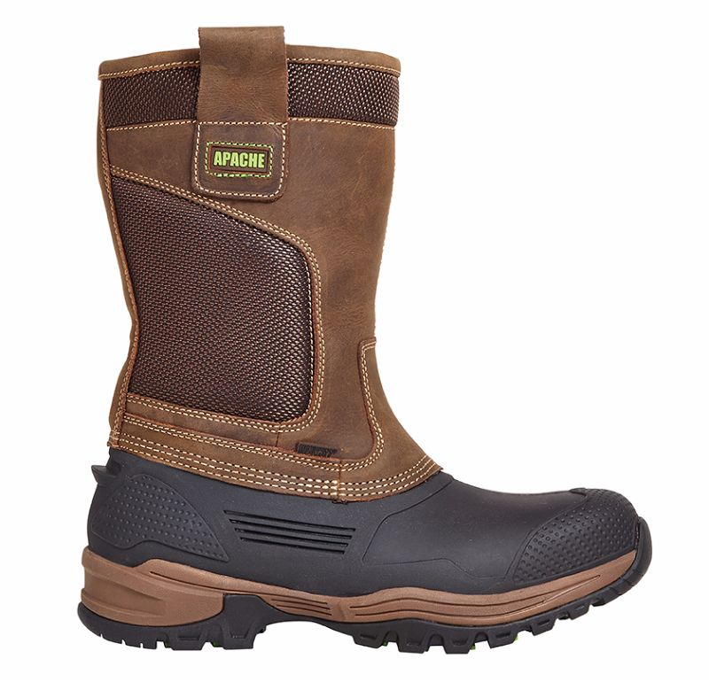 Apache Traction Waterproof Rigger Boot SZ 10