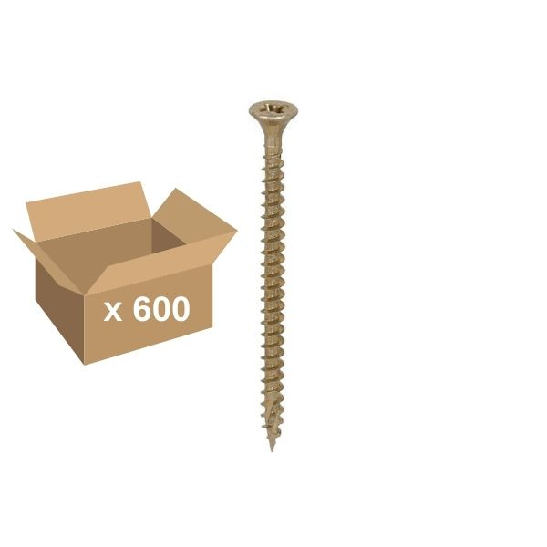 4x60mm Classic C2 Twin Cut ZYP Tub of 600