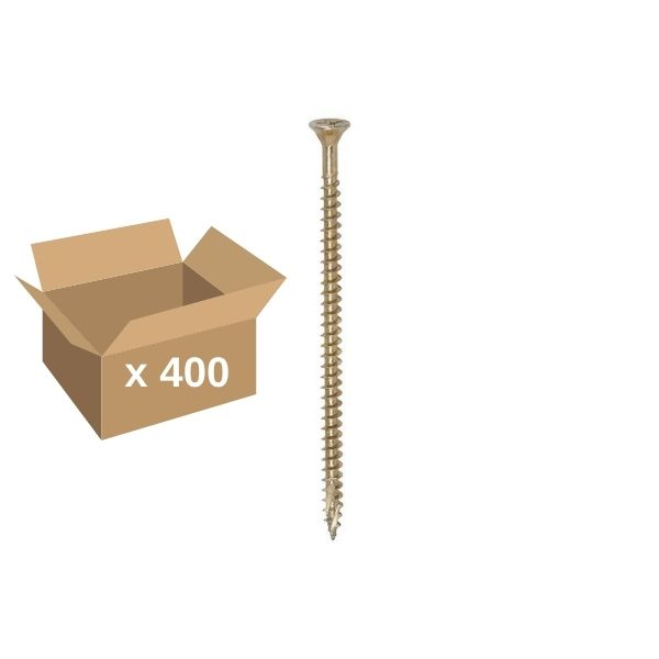 4x80mm Classic C2 Twin Cut ZYP Tub of 400