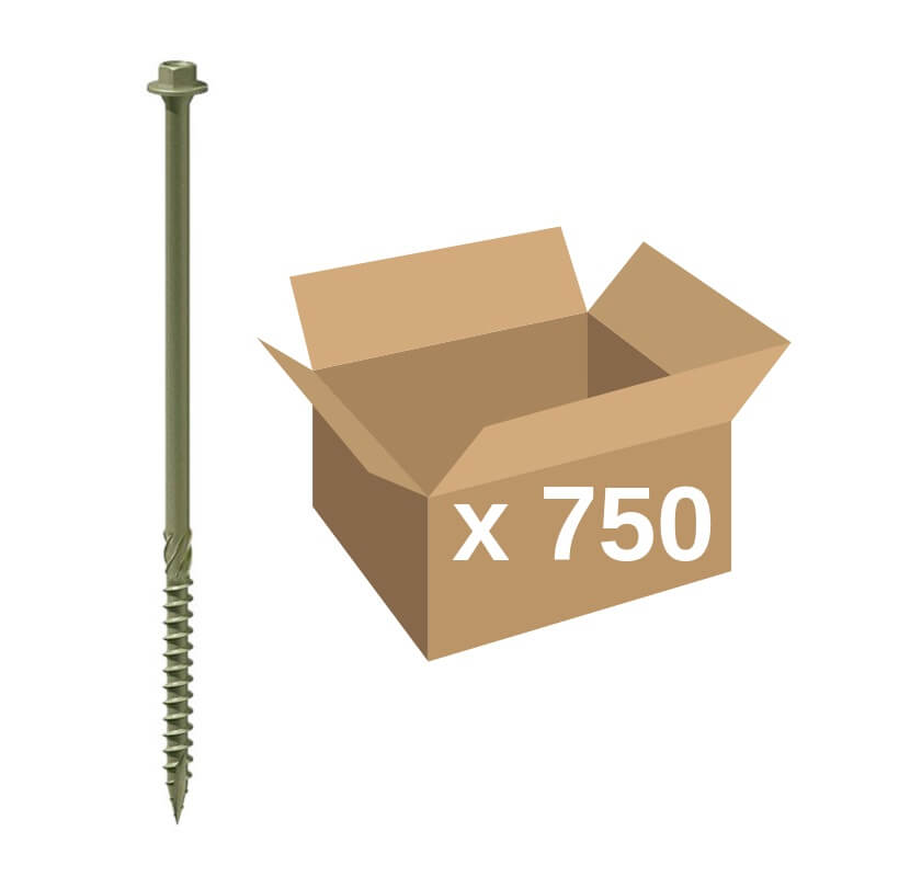 TIMco Index Timber Screws 6.7x100 (Bulk 750)
