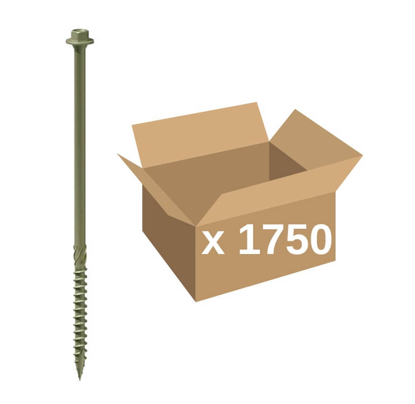 TIMco Index Timber Screws 6 7 x 60mm (1750)