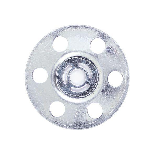TIMco 35mm Metal Insulation Discs (Bag 100)