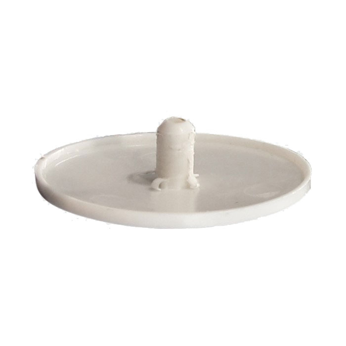 TIMco White Cover Cap For MIF Fixings (100)
