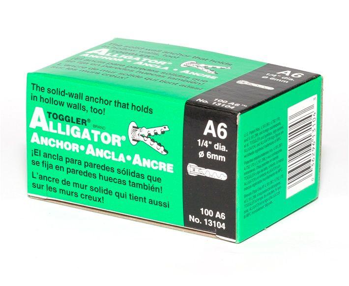 TOGGLER® A6 Alligator Plug (Box of 100)