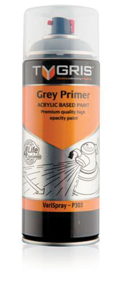 P303 Grey Primer Paint 400ml Vari-Spray