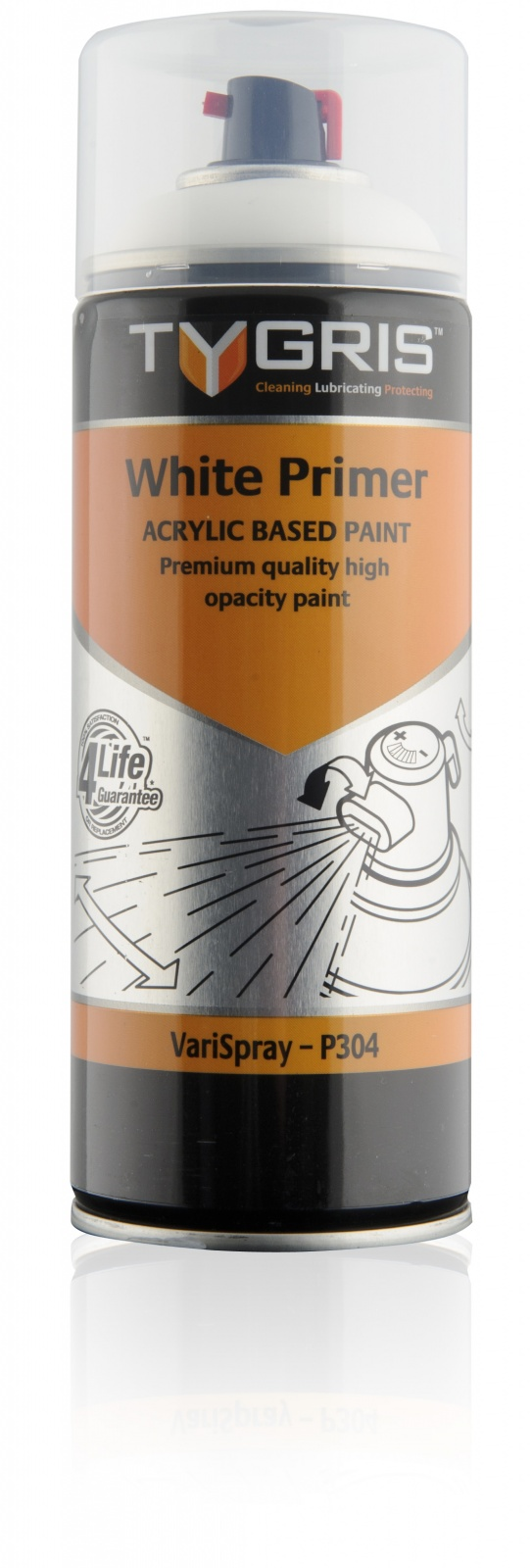P304 White Primer Paint 400ml Vari-Spray