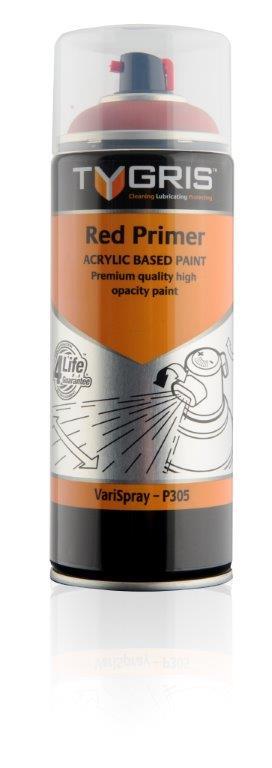 P305 Red Primer Paint 400ml Vari-Spray