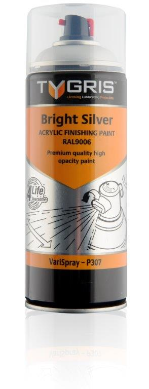 P307 Bright Silver Paint RAL9006 400ml
