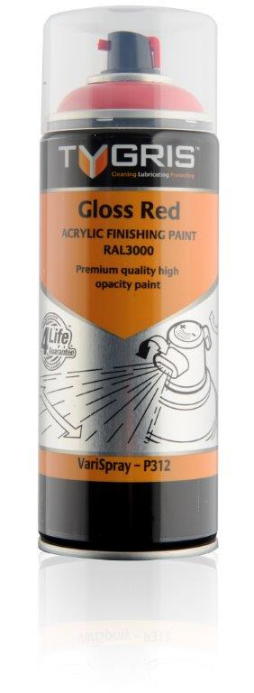 P312 Gloss Red Paint RAL3000 400ml