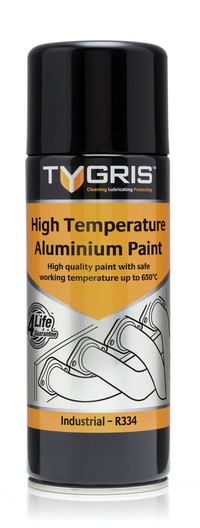 P334 Aluminium VHT Paint 400ml Vari-Spray