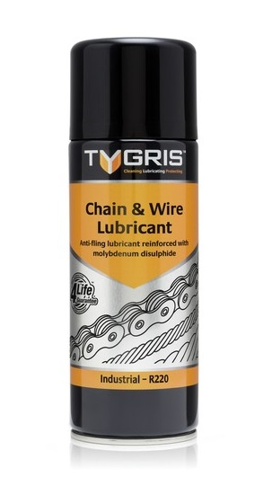 R220 Chain + Wire Lubricant 400ml
